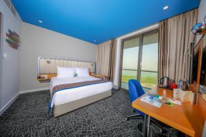 Suite med terrasse og panoramautsikt