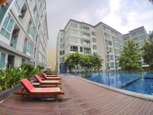 The Mayfair @ Sukhumvit 64, Апартаменты  Бангкок - big - 3
