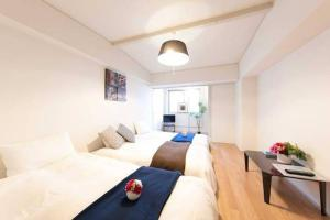 Apartment in Sennichimae AS1, Apartmány  Ósaka - big - 8