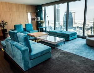 Presidential Suite with Club Access and Burj Khalifa View
