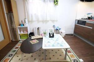 Apartment in Hoshin 104, Апартаменты  Осака - big - 5