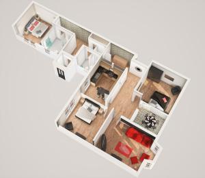 Greenview, 3 Bed Apartment, Apartments  Peterhead - big - 1