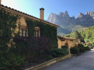 Montserrat La Calsina, Country houses  Monistrol - big - 11