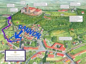 Pannon Vendégház, Penzióny  Pannonhalma - big - 1
