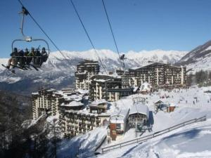 Apartment Orr des neiges, Apartments  Les Orres - big - 7