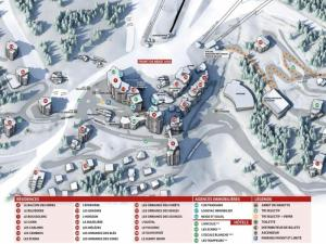 Apartment Orr des neiges, Apartments  Les Orres - big - 12
