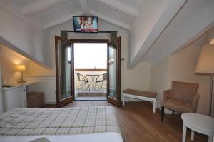 Hotel Garni Corona, Отели  Менаджо - big - 49