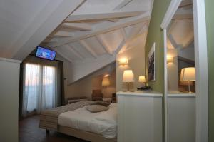 Hotel Garni Corona, Отели  Менаджо - big - 13