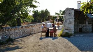 Trulli Il Castagno, Загородные дома  Мартина-Франка - big - 90