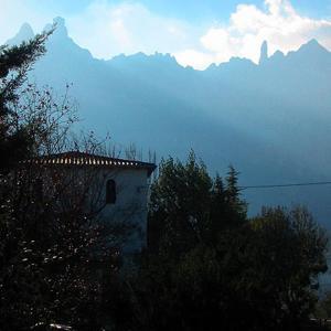 Villa Pla Els Bacus, Villas  Monistrol - big - 14