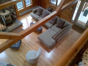 Luxury Log Cabin, Kúriák  Damascus - big - 3