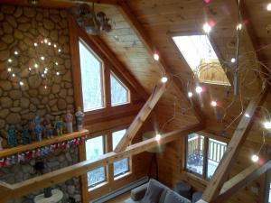 Luxury Log Cabin, Kúriák  Damascus - big - 5