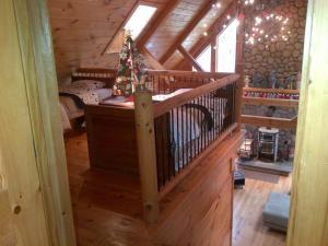 Luxury Log Cabin, Kúriák  Damascus - big - 10
