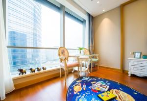 Suzhou Center Apartment, Apartmanok  Szucsou - big - 10