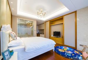 Suzhou Center Apartment, Apartmanok  Szucsou - big - 7