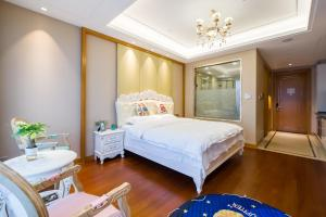 Suzhou Center Apartment, Apartmanok  Szucsou - big - 6
