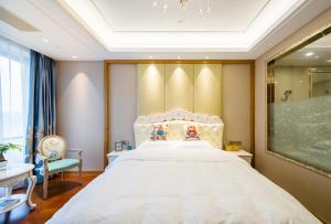 Suzhou Center Apartment, Apartmanok  Szucsou - big - 5