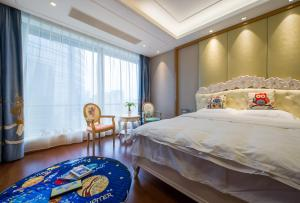 Suzhou Center Apartment, Apartmanok  Szucsou - big - 4