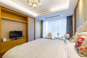 Suzhou Center Apartment, Apartmanok  Szucsou - big - 3
