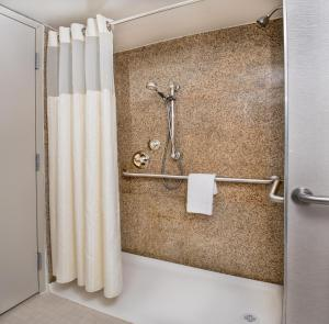 Deluxe King Room with Roll-in Shower - Mobility/Hearing Accessible