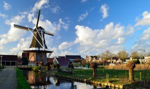 Mill view bij Leeuwarden