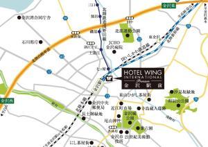 Hotel Wing International Premium Kanazawa Ekimae, Отели эконом-класса  Канандзава - big - 216