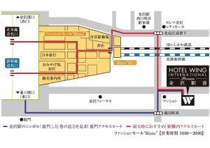 Hotel Wing International Premium Kanazawa Ekimae, Отели эконом-класса  Канандзава - big - 215