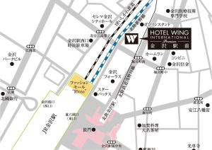 Hotel Wing International Premium Kanazawa Ekimae, Отели эконом-класса  Канандзава - big - 192