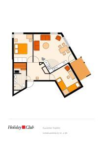 Holiday Club Kuusamon Tropiikki Apartments, Apartments  Kuusamo - big - 41