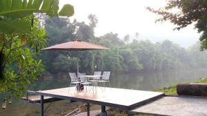 Suan Ruen Rom view raft