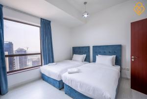 Keysplease Luxury 2 B/R Rimal Beach Apt, Apartmány  Dubaj - big - 29