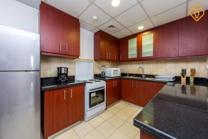 Keysplease Luxury 2 B/R Rimal Beach Apt, Apartmány  Dubaj - big - 28