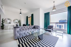 Keysplease Luxury 2 B/R Rimal Beach Apt, Apartmány  Dubaj - big - 1