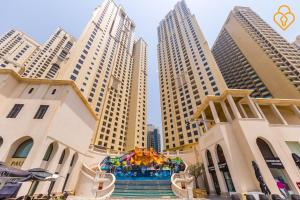 Keysplease Luxury 2 B/R Rimal Beach Apt, Apartmány  Dubaj - big - 14