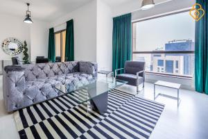 Keysplease Luxury 2 B/R Rimal Beach Apt, Apartmány  Dubaj - big - 11