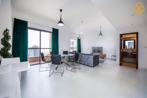 Keysplease Luxury 2 B/R Rimal Beach Apt, Apartmány  Dubaj - big - 10