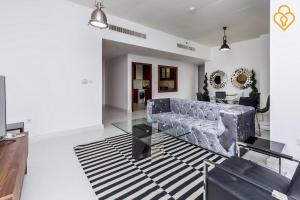 Keysplease Luxury 2 B/R Rimal Beach Apt, Apartmány  Dubaj - big - 9