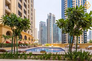 Keysplease Luxury 2 B/R Rimal Beach Apt, Apartmány  Dubaj - big - 7