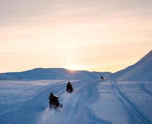Funken Lodge, Hotel  Longyearbyen - big - 24