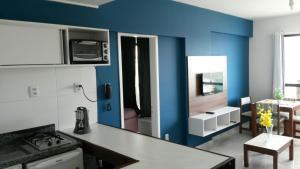Farol Barra Flat, Apartmány  Salvador - big - 3