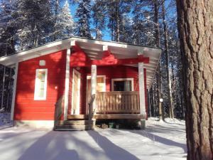 Ollilan Lomamajat, Holiday homes  Kuusamo - big - 13