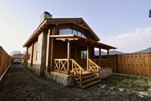 Canadian Log House, Villas  Bakuriani - big - 58