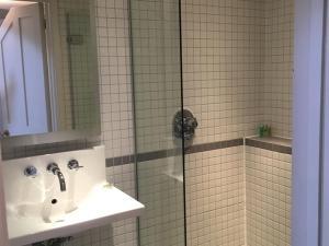 Enkeltværelse med brusebad