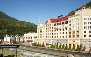 Отель Radisson Rosa Khutor, Красная Поляна