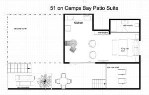51 On Camps Bay, Affittacamere  Città del Capo - big - 18