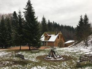 Zagorodnii Dom Ruzskaya skazka, Vidiecke domy  Glukhovo - big - 17