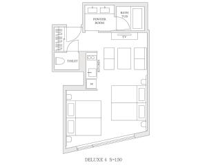 Deluxe Apartment - Non Smoking  (4 Adults)