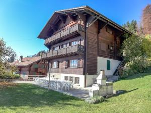 Chalet Riant Soleil, Holiday homes  Arveyes - big - 17