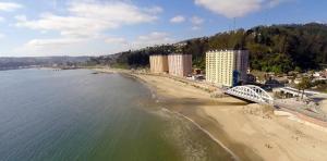 Departamentos Playa Bellavista tome, Apartmány  Tomé - big - 8