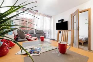 Apartment with a beautiful view of Saski Garden